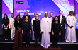 Strategic Advisor Connie Dieken with Zain Vice Chairman and Group CEO Bader Nasser Al-Kharafi and members of his team