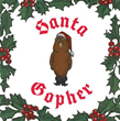 Dim That Nose, Rudolph – Santa Gopher Is Coming to Town