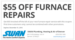 Furnace Repair Denver Coupon