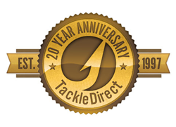 TackleDirect 20 Year Anniversary Seal