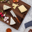 The finely sharpened edge cuts cleanly through firm cheeses and the pointed tip lets you break pieces off the most hardened aged cheese and spear them for serving. Chosen for Oprah's Favorite Things List 2017!