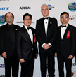 Chimelong Group is presenting sponsor of the TEA Thea Awards Gala. Shown here: TEA past president Rick Rothschild; Paul Z. P. Su, VP Chimelong; TEA president David Willrich; Chris Ho, GM,Chimelong.