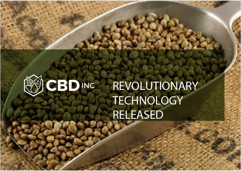 Revolutionary CBD Oil Technology Released