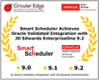 Circular Edge Smart Scheduler Achieves Oracle Validated Integration with Oracle's JD Edwards EnterpriseOne