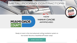 Stealthbond 174 Is Now Miami Dade County Building Code Approved