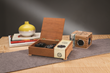 Get creative by integrating speakers into furniture, cabinetry and other commonplace items.