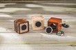 """The Rockler Wireless Speaker Kit features easy-to-connect electrical components that mount in 1-7/8"""" diameter holes."""