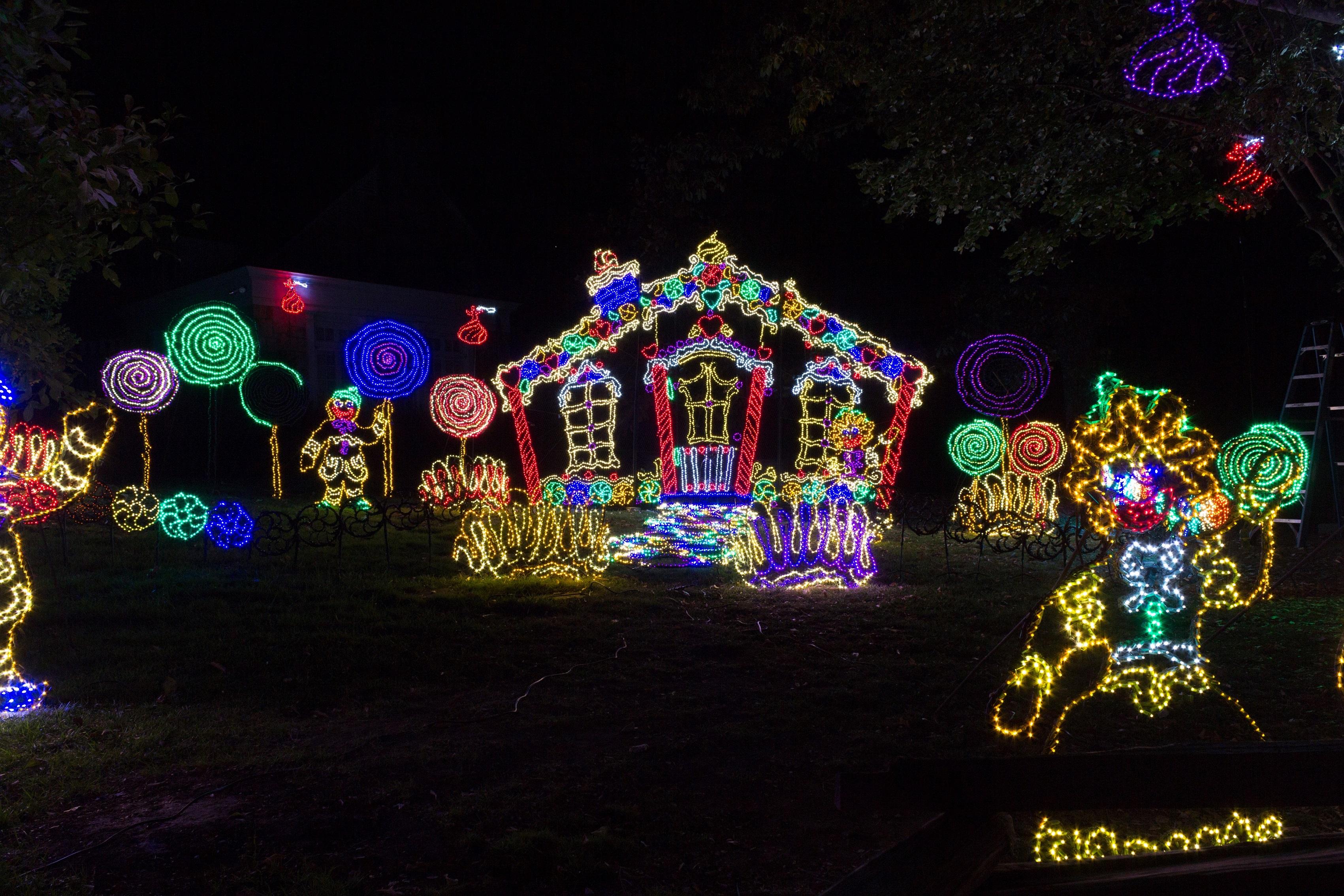 Rock City 39 S Enchanted Garden Of Lights Holiday Memories