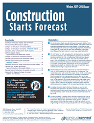 The Forecast Quarterly Report  combines ConstructConnect's proprietary data with macroeconomic factors and Oxford Economics econometric expertise