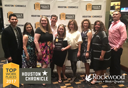 Rockwood Shutters Received 2017 Top Workplace Award