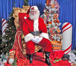 Join Santa & the Princesses at the Cookies, Carols & Crafts Workshop at the Straz Center
