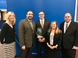 Lexington Health Network accepts the Gold Technology Award from McKnight's Long-Term Care News