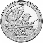George Rogers Clark National Historical Park Quarter (reverse)