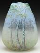 Daum Cameo And Enameled Broken Egg Vase, estimated at $6,500-8,000.