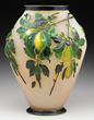 Galle Mold Blown Plum Vase, estimated at $20,000-25,000.