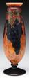 Schneider Wheel Carved Grape Vase, estimated at $7,000-10,000.