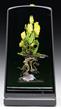 Paul Stankard Botanical Sculpture, estimated at $7,000-9,000.