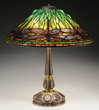 Tiffany Studios Dragonfly Table Lamp, estimated at $60,000-80,000.