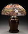 Handel Mountain Stream Table Lamp, estimated at $20,000-30,000.