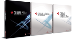 Steinberg Cubase Pro, Artist and Elements 9.5