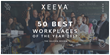 "Xeeva Included as One of the 2017 ""50 Best Workplaces of the Year"" by The Silicon Review"