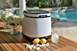 NewAir Compact Countertop Ice Maker for  Small Spaces is Perfect for Entertaining During the Holiday Season and Year Round