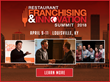 The Restaurant Franchising & Innovation Summit will explore how chains can leverage innovation in a variety forms from kitchen innovation to menu innovation as a catalyst for franchise expansion.