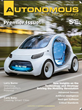 SAE International Launches New Magazine Dedicated to Automated Vehicle Engineering and Technology