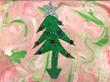 Christmas tree artwork createdy by Joyce Vigessa of New Perspective, Faribault, Minn.