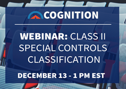 Cognition Corporation Class II Special Controls Webinar