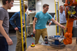 Worcester Polytechnic Institute Students Build a Robotic System That Could One Day Inspect Jet Engine Parts for GE Aviation