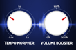 Tempo Morpher and Volume Booster of Voice Changer Software Diamond