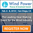 Infocast's Wind Power Finance & Investment Summit Returns February 2018