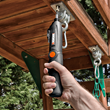 WORX Forcedriver assembling playground equipment