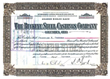 Buckeye Steel Castings Stock Certificate signed by Samuel Prescott Bush