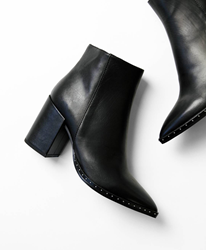 Picture of Tony Bianco Bailey Leather Ankle Boots For Women