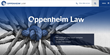 Oppenheim Law Announces Launch of New Website