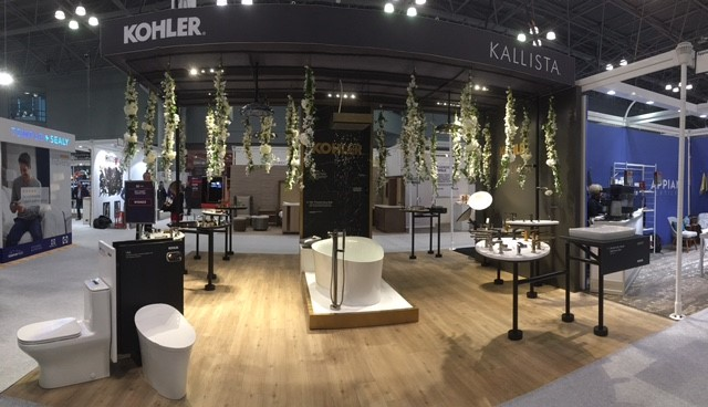 Kohler 174 And Kallista 174 Awarded Best Booth At Boutique