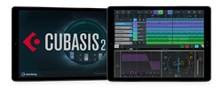 Steinberg Cubasis 2.3 with Waves AudioTrack Composing