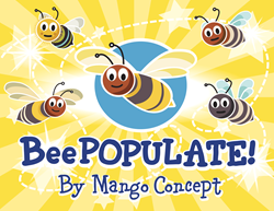 Logo of the game BeePopulate by Mango Concept