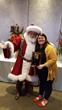 Macys Santa and Naomi Winders