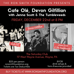 Ron Smith Foundation Cafe Ole Holiday Extravaganza Dec 22