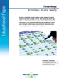 Free Download from METTLER TOLEDO Highlights Three Steps to Reliable Balance Performance