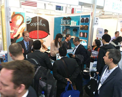 Capillus Premiered Its Full Line of Laser Therapy Caps During Its Debut at Medica 2017 World Forum for Medicine