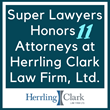 Super Lawyers Honors 11 Attorneys at Herrling Clark Law Firm, Ltd.