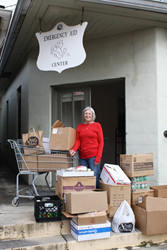 Cypress Bayou Casino Hotel Employees Hold Food Drive for the Holidays