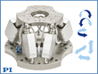 Hexapod 6-Axis Motion Platform with Absolute Position Encoders Introduced by PI
