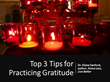 Dr. Diane Sanford, Author of Stress Less, Live Better, Teaches How to Cultivate Gratitude in Everyday Life in a New Podcast From Praeclarus Press