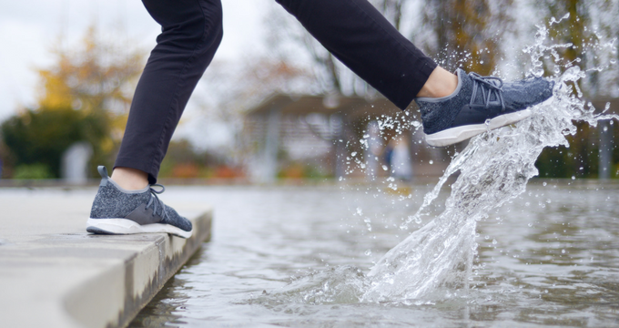 Waterproof Knit Shoes on Kickstarter