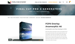 FCPX Overlay Anamorphic 4K - FCPX Effects - Pixel Film